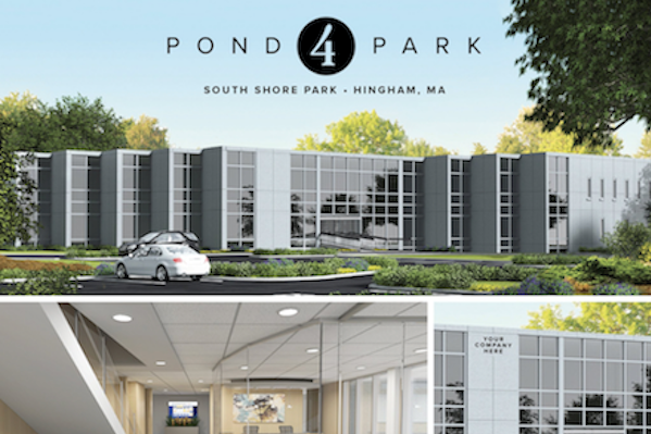 A.W. Perry Repositions 4 Pond Park at South Shore Park- Hingham's Newest Corporate Headquarters Opportunity